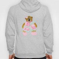 Rose Bear Hoody
