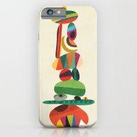 Totem - balanced pebbles iPhone 6 Slim Case