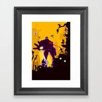 The Uncanny X-Men Framed Art Print