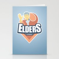Elders Of Vulcan Stationery Cards