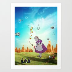 Alice Wondering Art Print