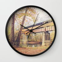 Ohio's Longest Covered B… Wall Clock