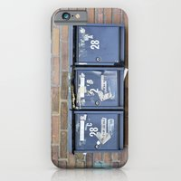 iPhone & iPod Case featuring Mailboxes by Marieken