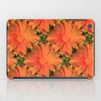 Orange Daisy iPad Case