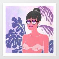 Miami Nights 1984 Art Print