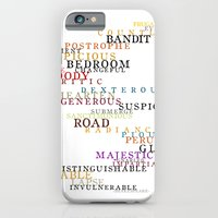 Word Inventions William Shakespeare Quote Art - Typography iPhone 6 Slim Case