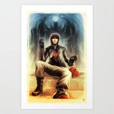 Red Hood - Jason Todd Art Print