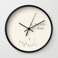 Wall Clock featuring Eh, I'm Already Late by Nephie
