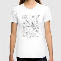 Produce Womens Fitted Tee White SMALL