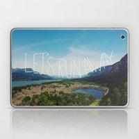 Let's Run Away: Columbia… Laptop & iPad Skin