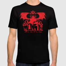Game monster  SMALL Black Mens Fitted Tee