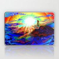 On a mountain top Laptop & iPad Skin