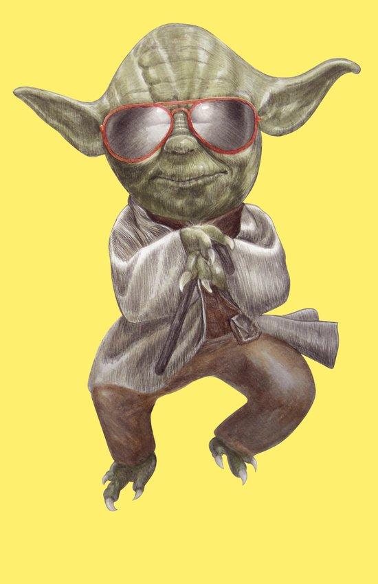 Yoda Style Art Print