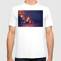 Driving In The Rain Mens Fitted Tee White SMALL