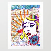 Just Say No! Art Print