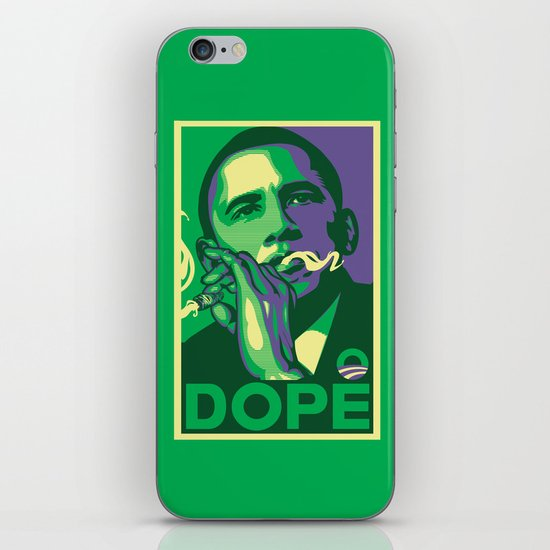 the dopest president iPhone & iPod Skin