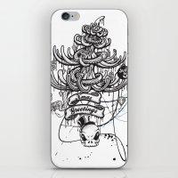 Xmas Greeting iPhone & iPod Skin