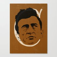 C is for Cash Canvas Print
