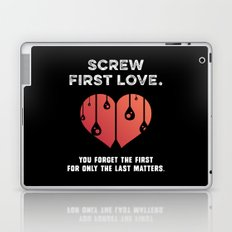 First Love [WHITE] Laptop & iPad Skin