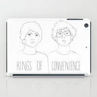 Kings of Convenience iPad Case