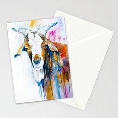 Goat 2 Stationery Cards