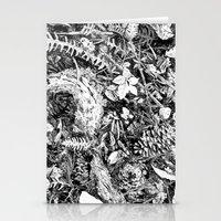 Inky Undergrowth Stationery Cards