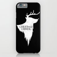 iPhone & iPod Case featuring Christmas is Coming by Boots