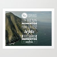 quotes Art Prints featuring Quotes by alesantanderp