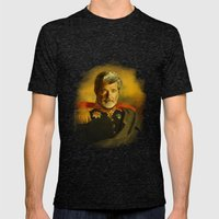 George Lucas - replaceface Mens Fitted Tee Tri-Black SMALL