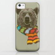 Winter Bear iPhone 5c Slim Case