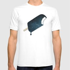 Space Melter Mens Fitted Tee SMALL White