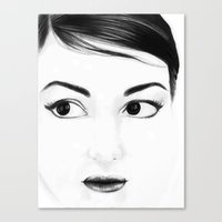 pretty face Canvas Print