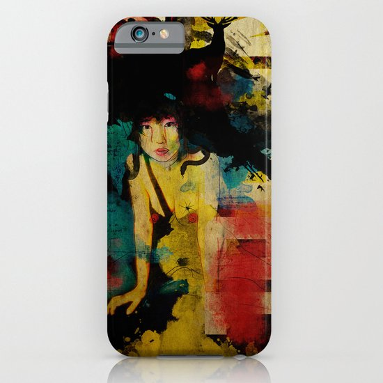 Visit Japan. Painterly Tourism Campaign Japanese style. iPhone & iPod Case