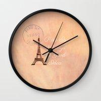 Vintage Paris Is Always … Wall Clock
