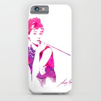 iPhone & iPod Case featuring Audrey Stencil by Jon Hernandez