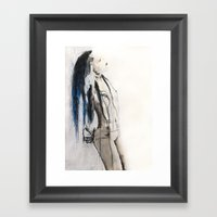 True To Her Creed, She D… Framed Art Print