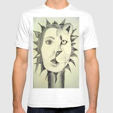 Sun Warrior SMALL White Mens Fitted Tee