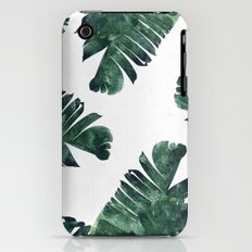 Banana Leaf Watercolor Pattern #society6 Slim Case iPhone (3g, 3gs)