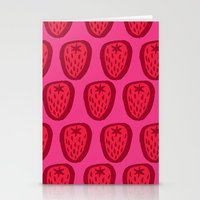 Kent Strawberries Stationery Cards