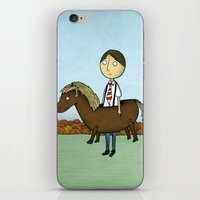 Horseback iPhone & iPod Skin