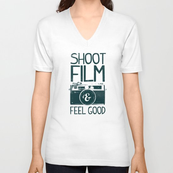 Shoot Film V-neck T-shirt