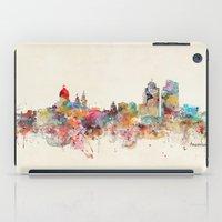Amsterdam city skyline iPad Case