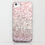 Girly Pink Snowfall iPhone 5c Slim Case