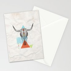 COW GEO Stationery Cards