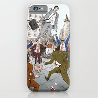 iPhone Cases featuring Levitation by Sebastian Cabot