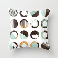 POINTS OF CONTACT Throw Pillow