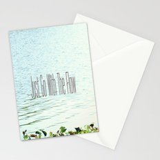 Just Go With the Flow Stationery Cards