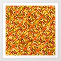 orangeex Art Print