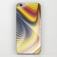 Fractal Waves 2 iPhone & iPod Skin