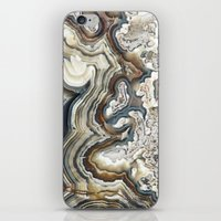 Blue Agate iPhone & iPod Skin